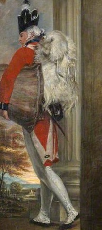 Capt. John Clayton Cowell, 1st Battalion, 1st (or the Royal) Reg't of Foot, ca. 1796