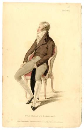 Full Dress of a Gentleman, 1810.