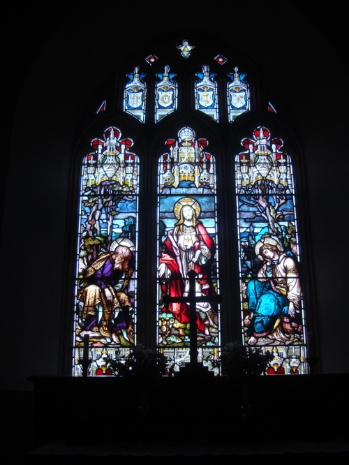 St. Nicholas's stained glass window