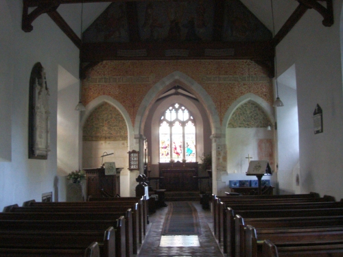Interior of St. Nicholas