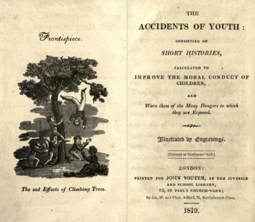 Fronticepiece of The Accidents of Youth, 1819