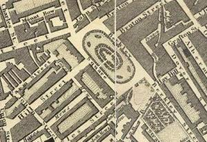 Berkeley Square, Greenwood's Map