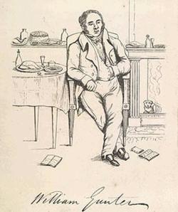 William Gunter in 1830