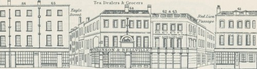 This detailed view of a Tannis street view is the header of the of London Street Views blog.