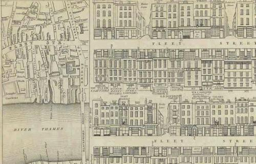 TALLIS, JOHN. TALLIS'S LONDON STREET VIEWS, EXHIBITING UPWARDS OF ONE HUNDRED BUILDINGS IN EACH NUMBER, ELEGANTLY ENGRAVED ON STEEL, WITH A COMMERCIAL DIRECTORY CORRECTED EVERY MONTH, THE WHOLE FORMING A COMPLETE STRANGER'S GUIDE THROUGH LONDON... THE PUBLIC BUILDINGS, PLACES OF AMUSEMENT, TRADESMEN'S SHOPS, NAME AND TRADE OF EVERY OCCUPANT. LONDON, N.D. [CA. 1840].