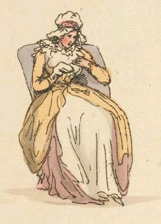 Sewing, woman's work