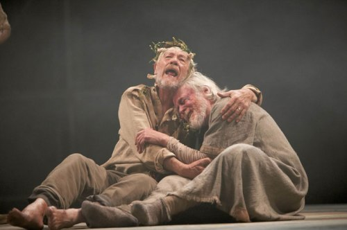 Ian McKellen (King Lear), William Gaunt (Gloucester)