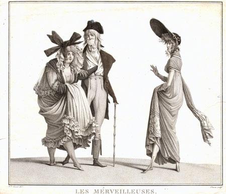 Les Merveilleuses, by carle vernet