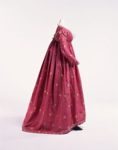 Silk Dress 1795 The Kyoto Costume Institute
