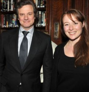 If you wonder how our favorite couple would have aged, here's an image of Mr. Darcy and Elizabeth 15 years later.