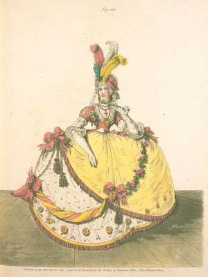 1808 La Belle Assemblee court dress