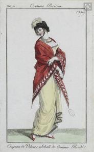 1801-1802 shawl