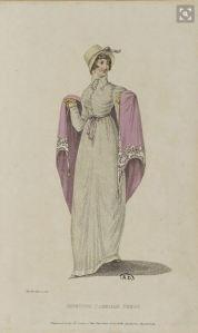 1811 shawl, Belle Assemblee