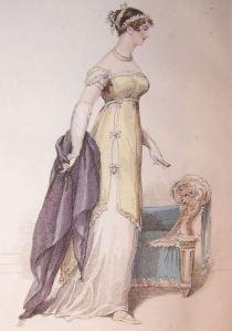 1813 shawl, Belle Assemblee