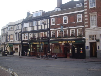Druids head coaching inn Kingston