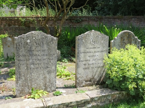 Image 14 Graves at Chawton
