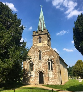 Steventon Church, Photo by Rachel Dodge