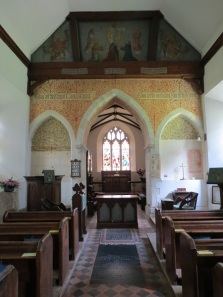 Interior of church, Photo by Rachel Dodge