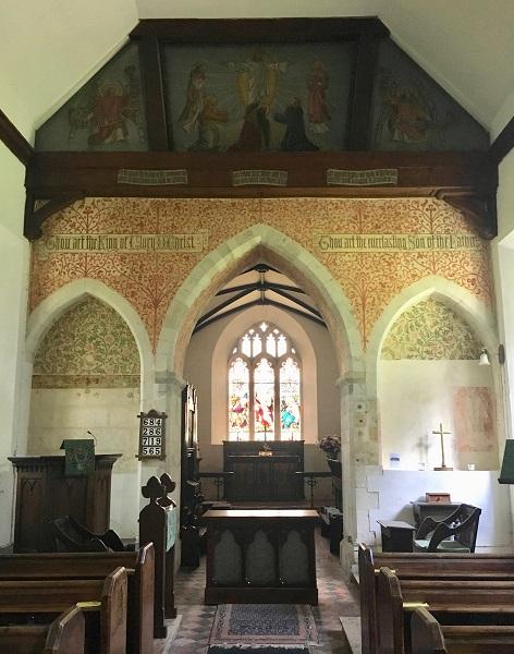Interior Steventon Church