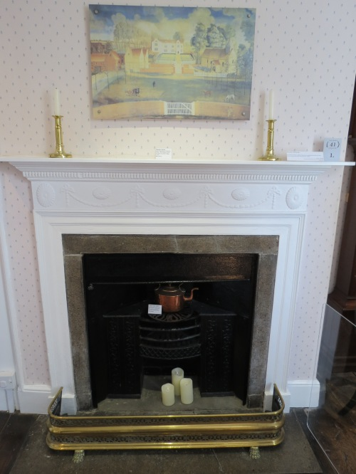 Chawton Cottage Fireplace