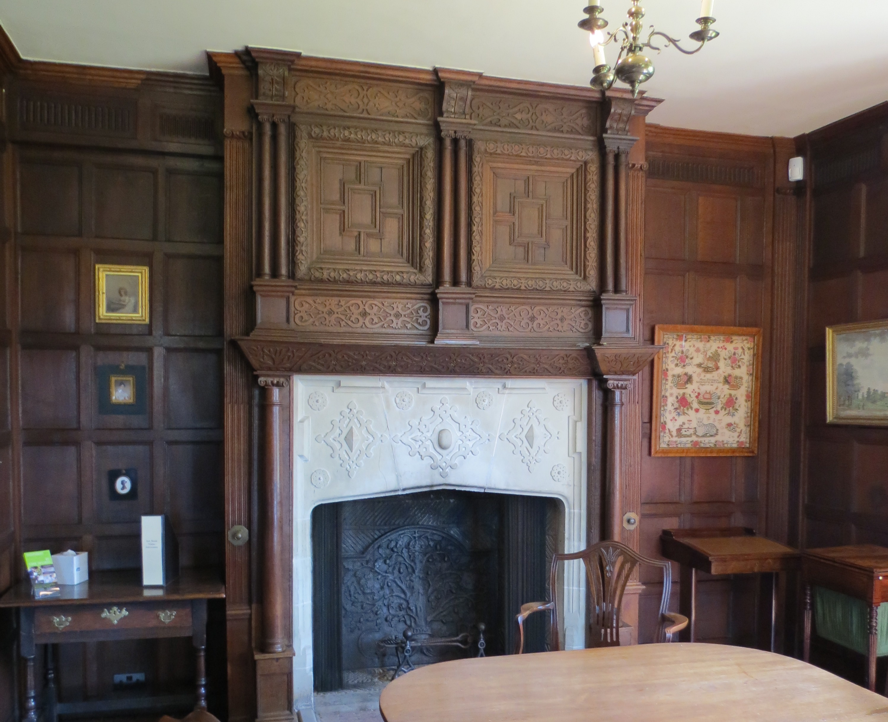 Chawton Great House Fireplace