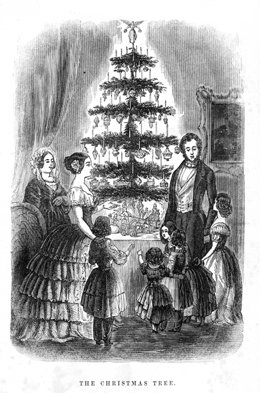 First_Christmas_Tree_in_Britain_1846_Illustrated_London_News
