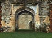 Archway. Netley Abbey. Image Tony Grant