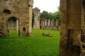 Netley Abbey Ruins. Image Tony Grant