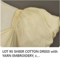 1815 muslin gown