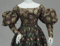 1825-30 dress, Museum of Fine Arts Boston