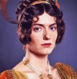 Anna Chancellor as Caroline Bingley, 1995