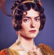 Anna Chancellor as Caroline Bingley, 1995