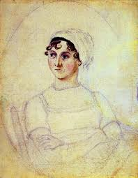 Jane Austen portrait by Cassandra Austen at the National Portrait Gallery