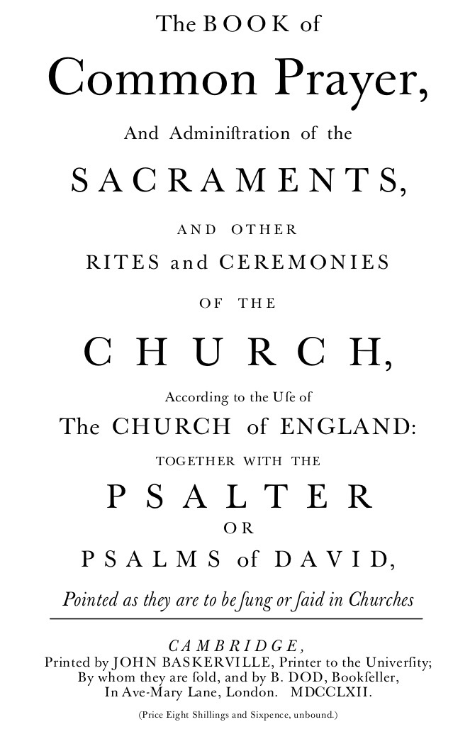 Photo 3 Book of Common Prayer Cover page