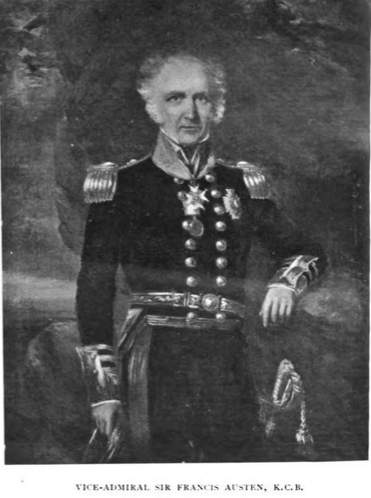 Photo 5 Vice Admiral Sir Francis Austen
