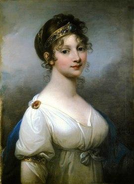 Portrait of Luise von Mecklenburg-Strelitz, Josef Grassi 1802