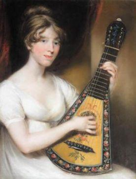 Portrait of Harriet Melon by John Russel, 1804