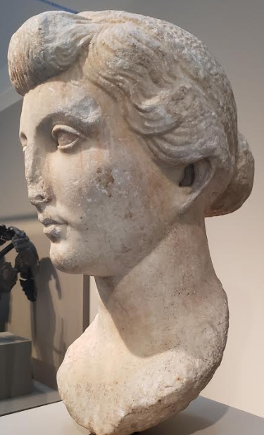 Portrait of Livia, Roman, Late Republican period, mid-late 30s B.C.