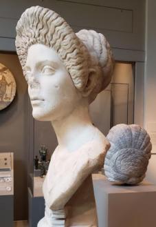 Portrait of a Woman. Roman, Trajanic period, ca A.D. 10. Walters Art Museum
