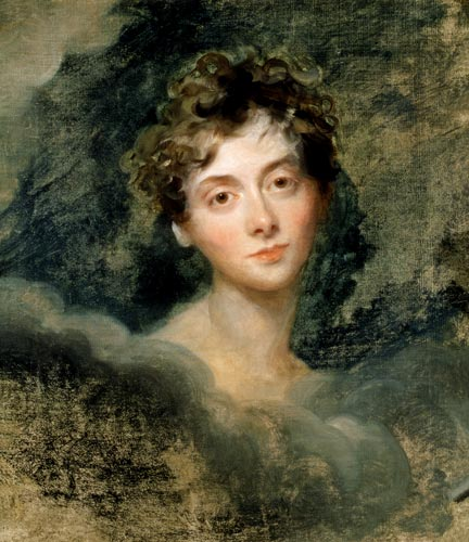 Portrait of Lady Caroline Lamb, circa 1805, Sir Thomas Lawrence