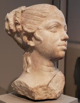 Portrait of a Young Woman, Roman, ca. 50 B.C.