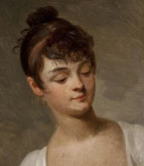 Portrait of a young girl, Louis-Léopold Boilly. Date unknown.