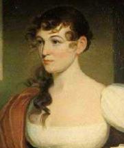 Detail of Mrs John Gibson. Portrait by Jacob Eichholz, ca 1820