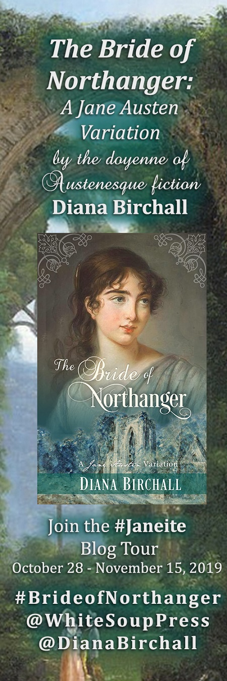 Sidebar image of the Bride of Northanger blog tour