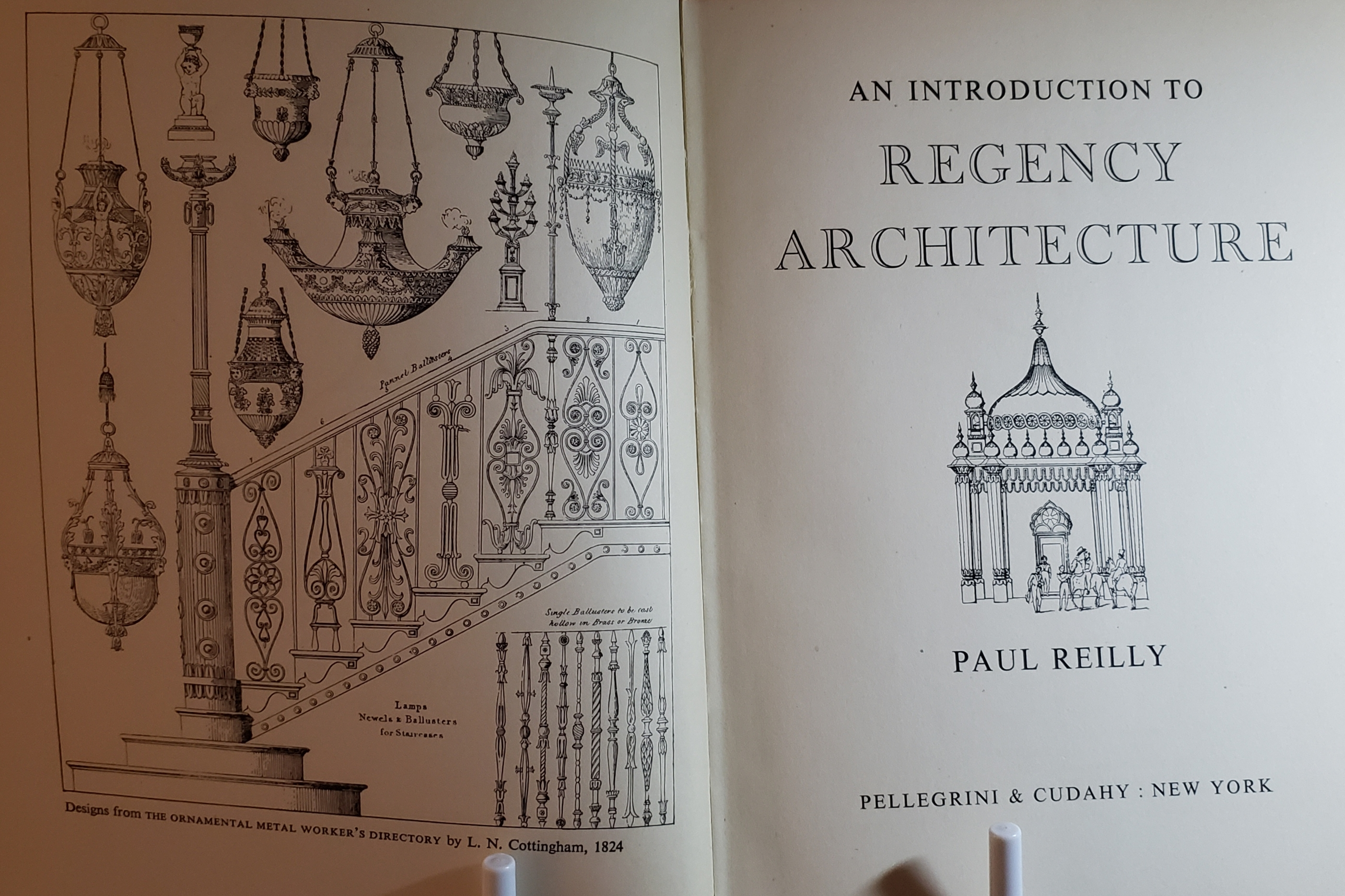Image of the title page of An Introduction to Regency Architecture