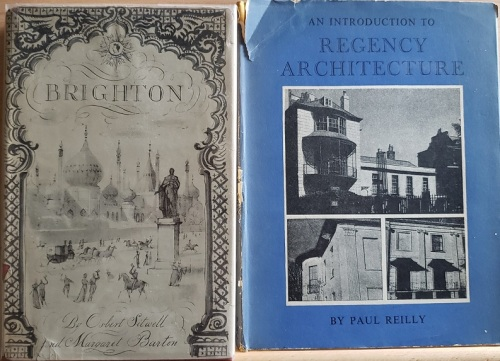 Covers of Brighton and An Introduction to Regency Architecture.