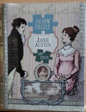 Cover of Jane Austen 500 piece jigsaw puzzle