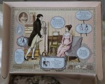 Inside cover of Jane Austen Pride and Prejudice jigsaw puzzle
