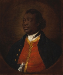 Portrait of Ignatius Sancho, 1768 by Thomas Gainsborough, National Gallery of Canada. Wikimedia Commons. This work is in the public domain.