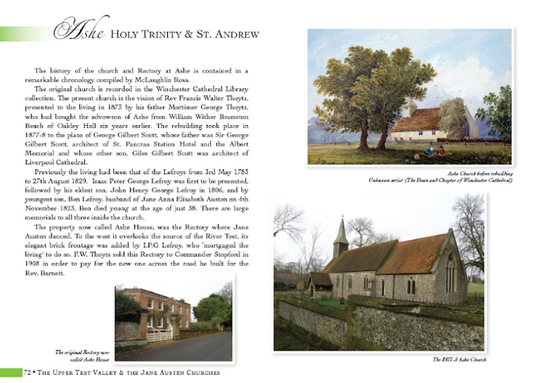 History of the Church and Rectory at Ashe